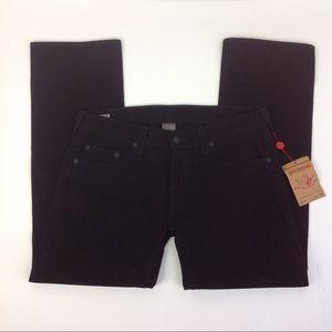 NWT True Religion Bobby Black Jeans 38 x 33 Men's